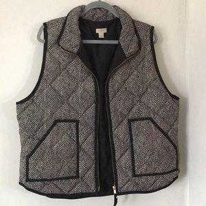 J.Crew Herringbone Vest